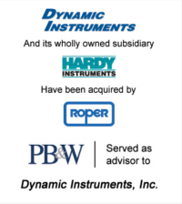 Dynamic Instruments Aerospace & Defense Acquisitions