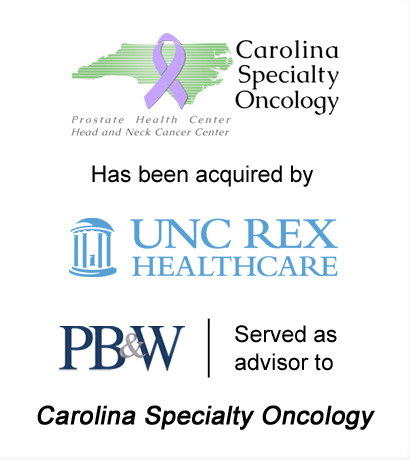 Carolina Specialty Oncology Healthcare Mergers & Acquisitions