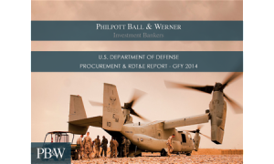 Defense Investment Banking Professionals